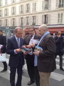 Rencontre avec Bertrand Delanoë