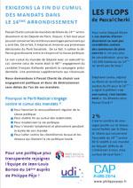 Stop au cumul des mandats dans le 14ème arrondissement de Paris