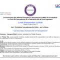 29 septembre 2014 : Entretiens francophones de Valois